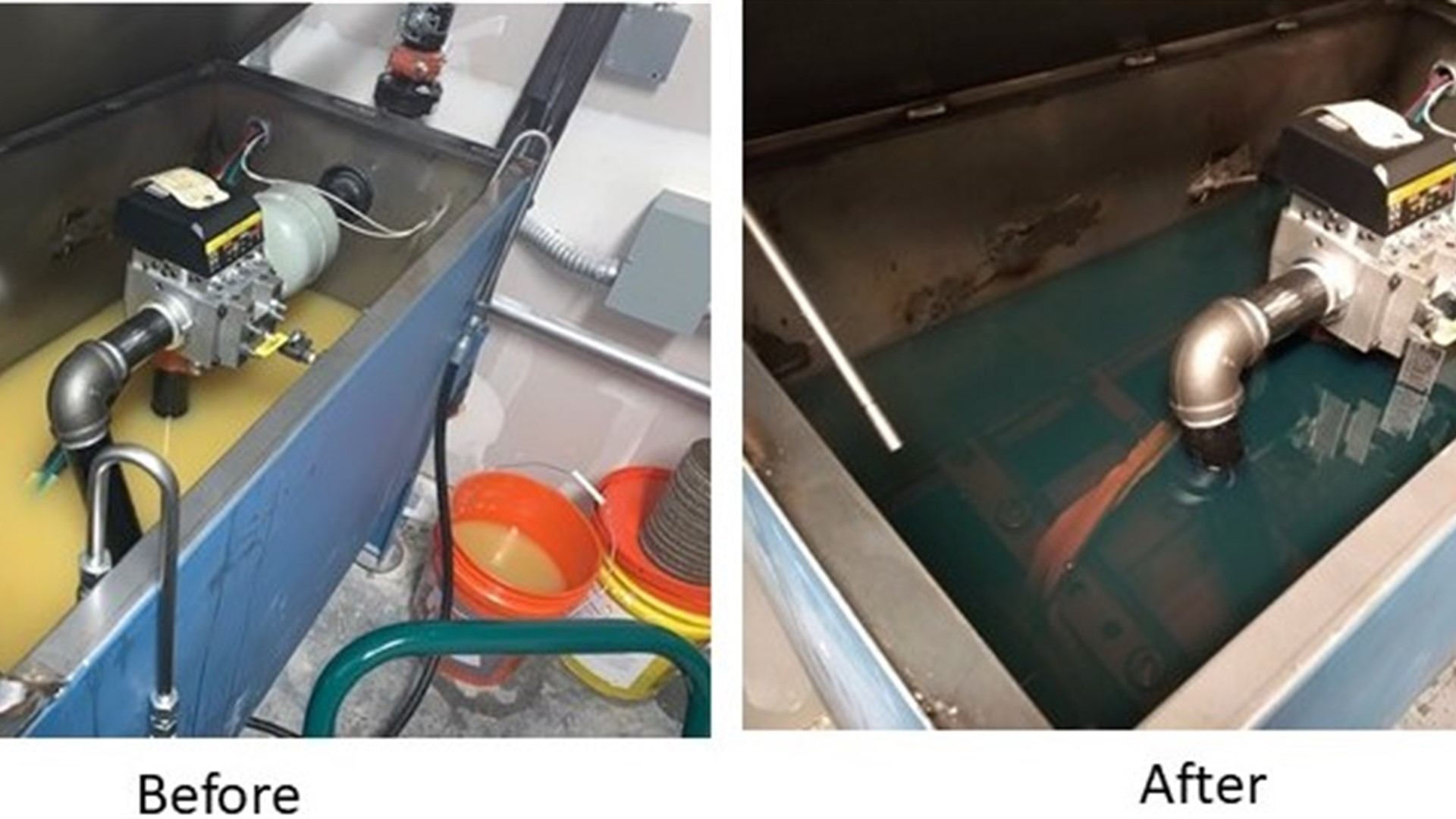 Water Removal using the Oil Scrubber on a Hydraulic Elevator